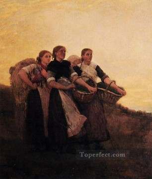 Hark The Lark Realism painter Winslow Homer Oil Paintings