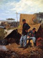 Home Sweet Home Realism painter Winslow Homer