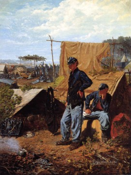 Winslow Homer Painting - Home Sweet Home Realism painter Winslow Homer