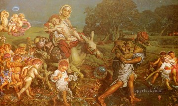 The Triumph Of The Innocents British William Holman Hunt Oil Paintings
