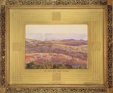 William Holman Hunt Painting - The Dead Sea from Siloam British William Holman Hunt