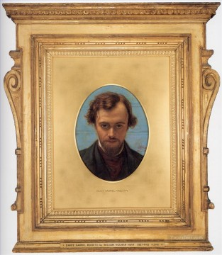 William Holman Hunt Painting - Dante Gabriel Rossetti British William Holman Hunt