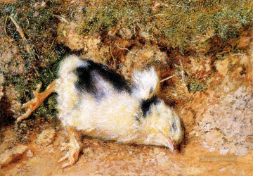 hunt Painting - John Ruskins dead chick British William Holman Hunt