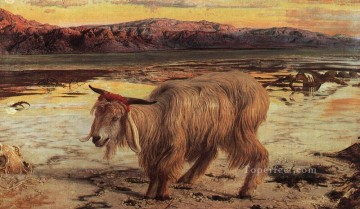 The Scapegoat British William Holman Hunt Oil Paintings
