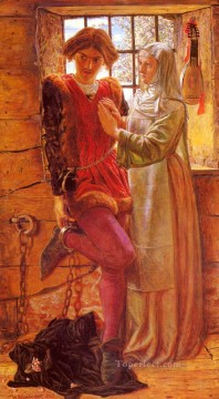 William Holman Hunt Painting - Claudio And Isabella British William Holman Hunt