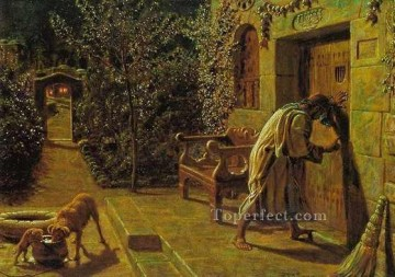 William Holman Hunt Painting - The Importunate Neighbour British William Holman Hunt