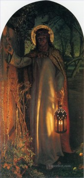 The Light of the World British William Holman Hunt Oil Paintings