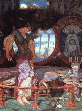 The Lady of Shalott British William Holman Hunt Oil Paintings