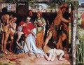 A Converted British Family Sheltering a Christian Missionary from the Persecution of the Druids C British William Holman Hunt