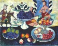 still life of fruit 1913 Ilya Mashkov
