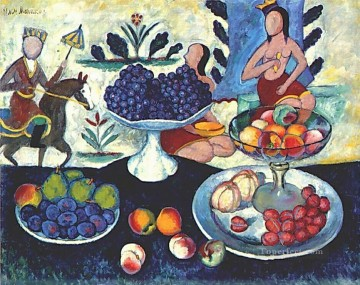 life - still life of fruit 1913 Ilya Mashkov
