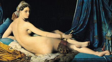 Auguste Dominique The Grande Odalisque nude Jean Auguste Dominique Ingres Oil Paintings