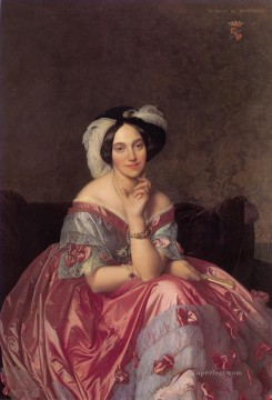 Baronne James de Rothschild Neoclassical Jean Auguste Dominique Ingres Oil Paintings