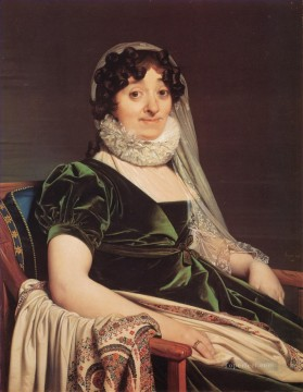 Comtess de Tournon Neoclassical Jean Auguste Dominique Ingres Oil Paintings