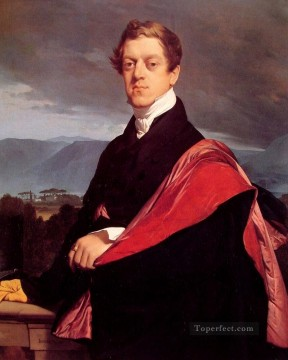 Count Nikolai Dmitrievich Gouriev Neoclassical Jean Auguste Dominique Ingres Oil Paintings