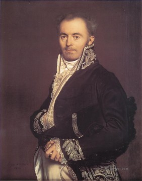 Hippolyte Francois Devillers Neoclassical Jean Auguste Dominique Ingres Oil Paintings