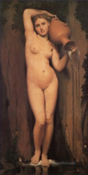 La Source nude Jean Auguste Dominique Ingres Oil Paintings