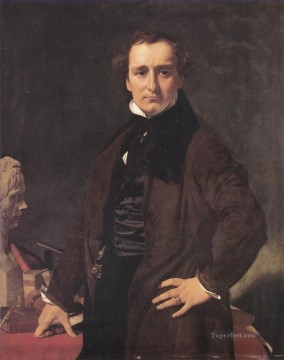 Lorenzo Bartolini Neoclassical Jean Auguste Dominique Ingres Oil Paintings