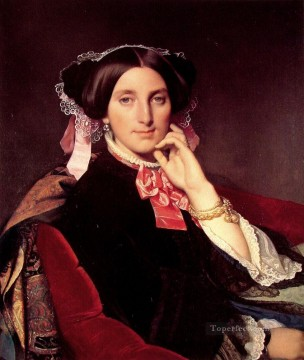 Madame Henri Gonse Neoclassical Jean Auguste Dominique Ingres Oil Paintings