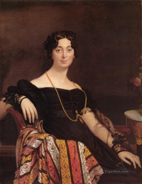 Madame Jacques Louis Leblanc Neoclassical Jean Auguste Dominique Ingres Oil Paintings