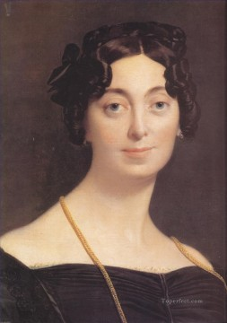 Madame Leblanc Neoclassical Jean Auguste Dominique Ingres Oil Paintings