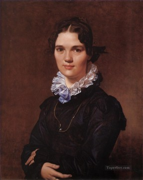 Mademoiselle Jeanne Suzanne Catherine Gonin Neoclassical Jean Auguste Dominique Ingres Oil Paintings