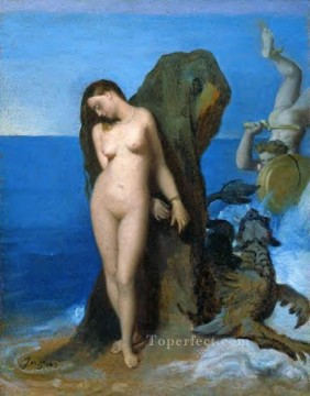 Perseus and Andromeda Neoclassical Jean Auguste Dominique Ingres Oil Paintings