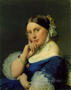 ramel Neoclassical Jean Auguste Dominique Ingres Oil Paintings