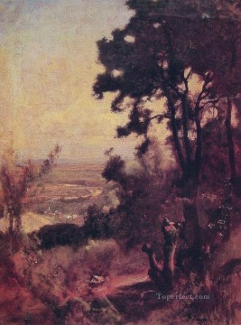 Valley Near Perugia Tonalist George Inness Oil Paintings