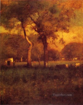 Inness Canvas - California Tonalist George Inness