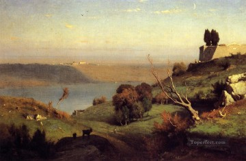 Castel Gandolfo Tonalist George Inness Oil Paintings