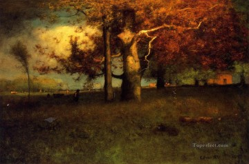 Early Autumn Montclair Tonalist George Inness Oil Paintings