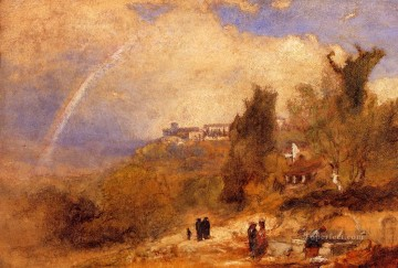 Near Perugia Tonalist George Inness Oil Paintings