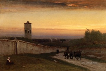 Inness Deco Art - Twilight Tonalist George Inness