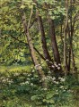 Forest flowers classical landscape Ivan Ivanovich