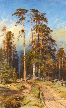 Sukhostoi classical landscape Ivan Ivanovich Oil Paintings