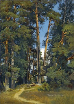 WOODLAND GROVE classical landscape Ivan Ivanovich Oil Paintings