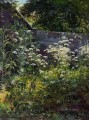 corner of overgrown garden goutweed grass 1884 classical landscape Ivan Ivanovich
