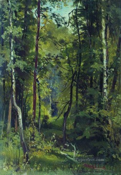 forest 8 classical landscape Ivan Ivanovich Oil Paintings