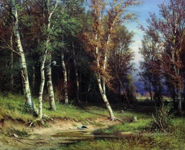 forest before the storm 1872 classical landscape Ivan Ivanovich Oil Paintings