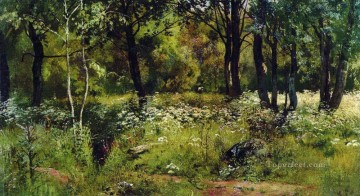forest glade classical landscape Ivan Ivanovich Oil Paintings