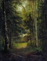 hut in the the forest classical landscape Ivan Ivanovich