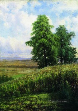 slope classical landscape Ivan Ivanovich Oil Paintings