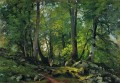 beech forest in switzerland 1863 1 classical landscape Ivan Ivanovich