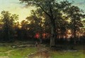 wood in the evening 1869 classical landscape Ivan Ivanovich