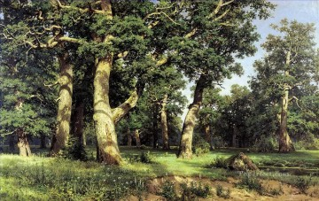 oak grove 1887 classical landscape Ivan Ivanovich Oil Paintings