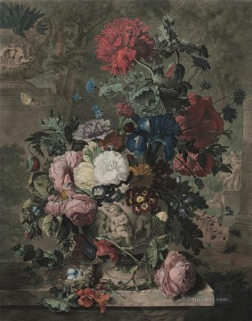 A Flower Piece 3 Jan van Huysum Oil Paintings