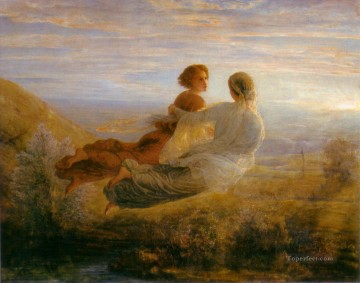 poeme de l ame 16 le vol de l ame Anne Francois Louis Janmot Decor Art