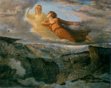 Louis Janmot Painting - poeme de l ame 17 l ideal Anne Francois Louis Janmot