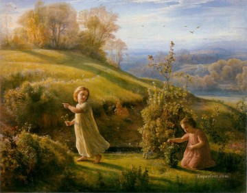 poeme de l ame 4le printemps Anne Francois Louis Janmot Decor Art